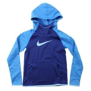 Nike Therma Training Full-Zip Hoodie Midnight Navy